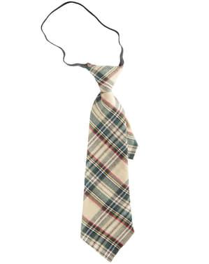 Cravatta a quadri per adulto