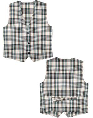 Vest met vierkanten voor voklwassenen