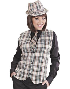 Adult's Checked Waistcoat
