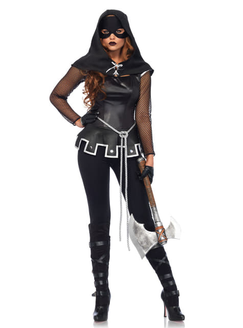 Woman's Sexy Executioner Costume