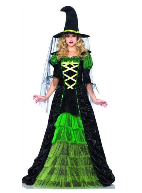 Disfraz de bruja mala de cuento para mujer