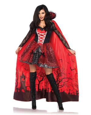 Forførende Vampyr Kostyme Dame