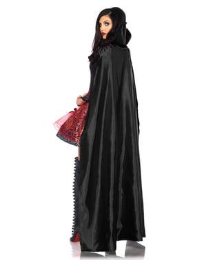 Костюмът на съблазнителния вампир на жената
