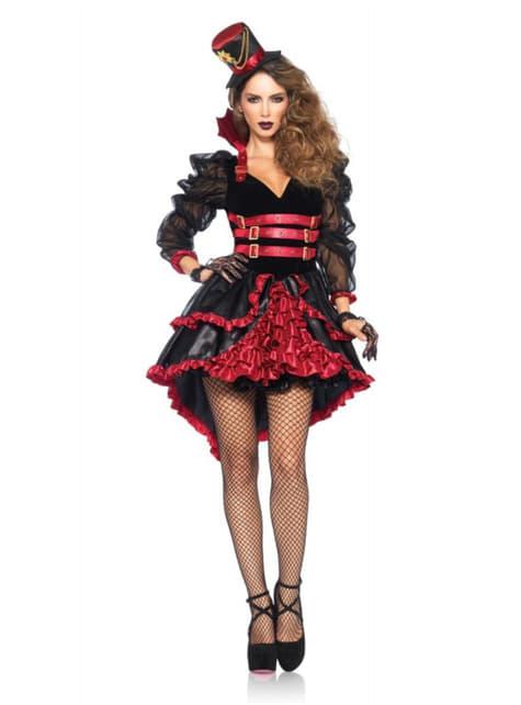 Viktoriansches Vampirin Kostüm für Damen