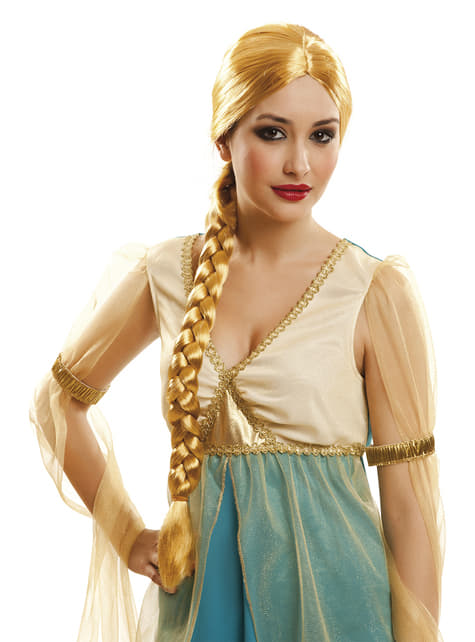 Ξανθιά πριγκίπισσα πριγκίπισσα περούκα για τις γυναίκες