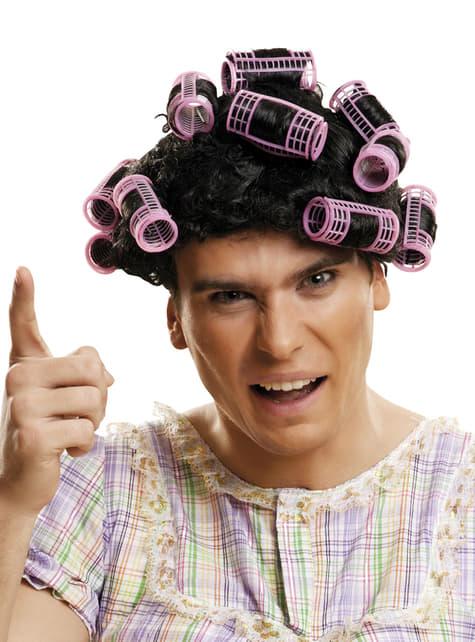 Παραδοσιακή περούκα νοικοκυράς της ενηλίκου