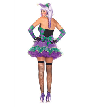 Man's Charming Mardi Gras Costume