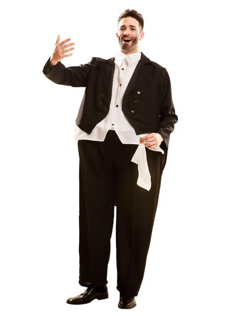 Adult's Plump Opera Singer Costume