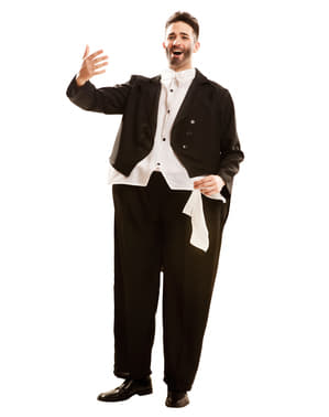 Déguisement chanteur opéra grassouillet adulte