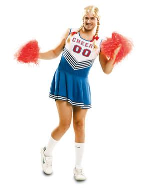 Costume da cheerleader sexy per uomo