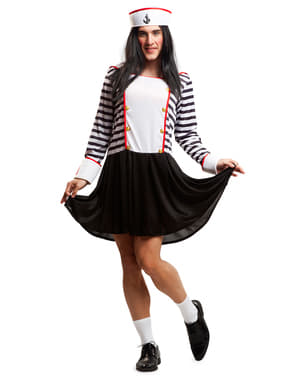 Man's Little Sailor Girl Costume