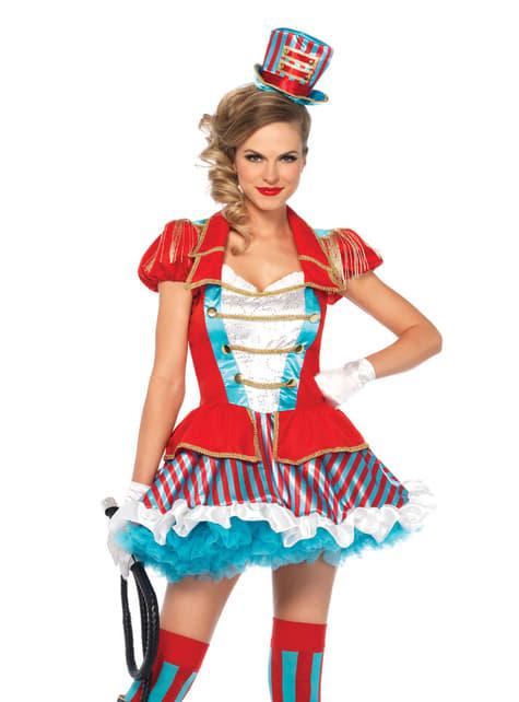 Stunning Circus Tamer costume for women