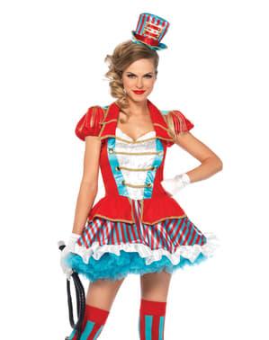 Costum de îmblânzitoare de circ fermecătoare pentru femeie