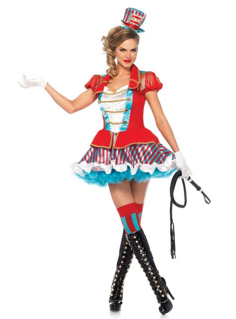 Kostium olśniewający poskramiacz cyrku damski