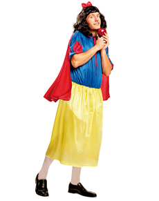 Men's Snow White He-Princess Costume