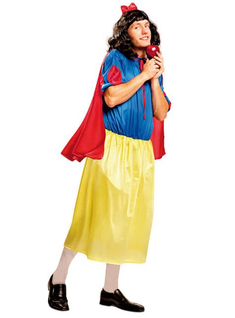 Men's Snow White He-Princess Costume