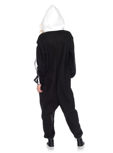 Disfraz de Esqueleto Onesie para adulto