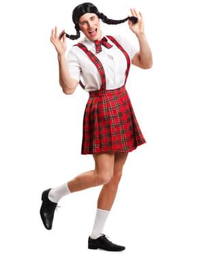 Pánský kostým školačka