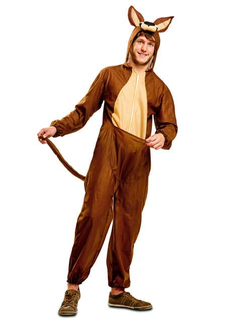 Australianisches Känguru Kostüm für Erwachsene