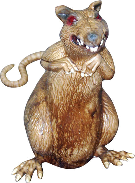 Faux rat pour la décoration