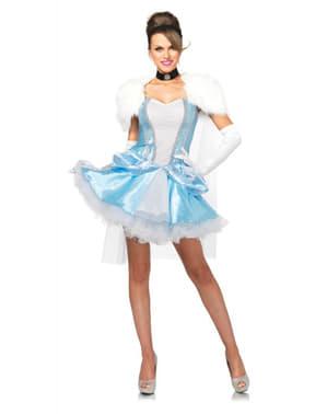 Disfraz de princesa del zapato de cristal winter para mujer