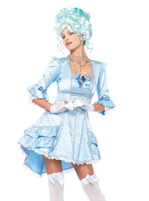 Disfraz de belleza de Versalles para mujer