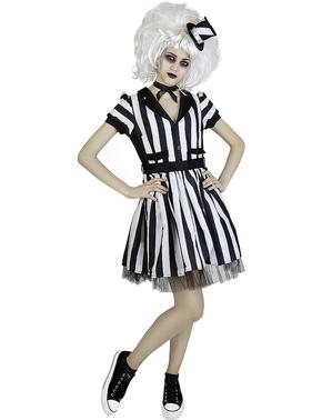 Costum Beetlejuice pentru femei