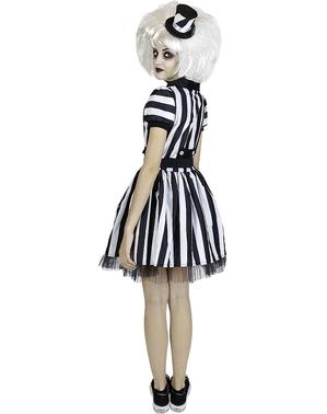Beetlejuice kostyme til Dame