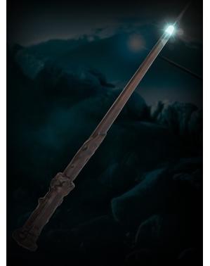 Varinha de Harry Potter com luz