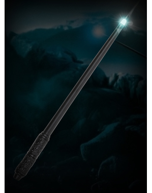 Varita de Severus Snape con luz