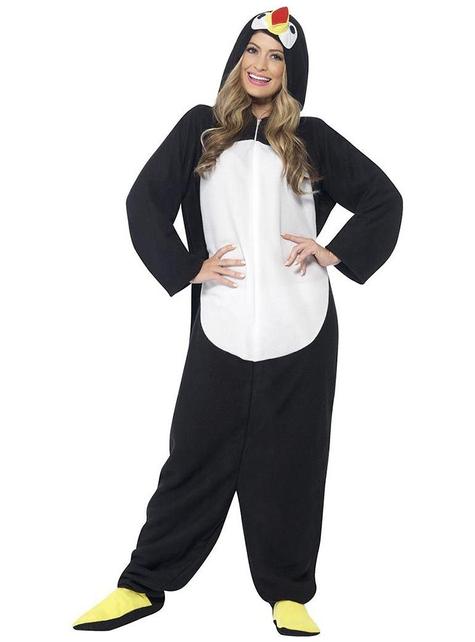 Artig pingvin kostyme voksen man