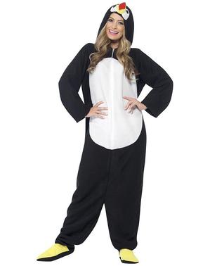 Pánský kostým legrační tučňák