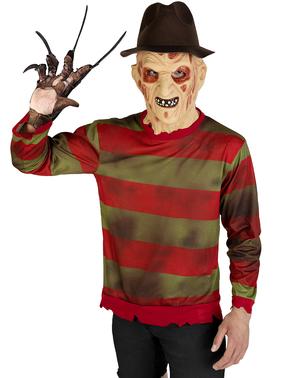 Pulover Freddy Krueger mărime mare - Coșmarul de pe Elm Street