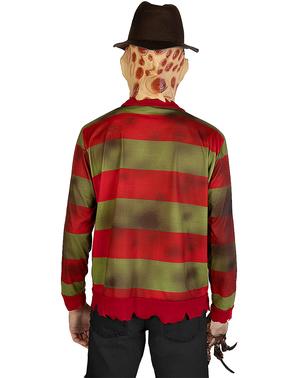 """Блузата на Фреди Крюгер, макси размер– """"Кошмарът на Елм стрийт"""""""