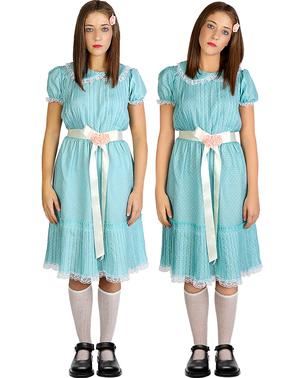 Déguisement jumelle Shining pour femme grande taille