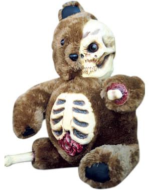 Děsivý halloweenský plyšový medvídek