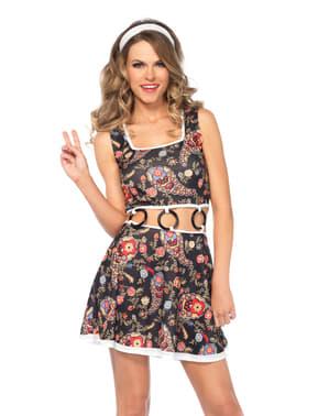 Disfraz de hippie cool para mujer