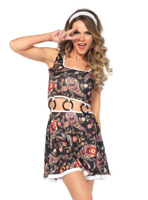 Disfraz de hippie sexy para mujer - original