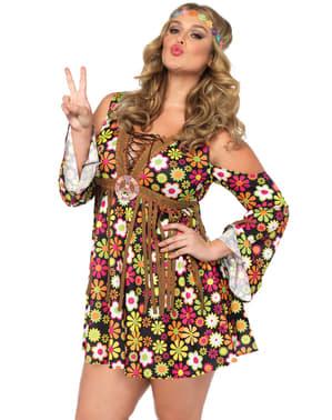 Verleidelijke hippie kostuum voor vrouw
