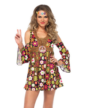 Woman's Seductive Hippy Costume