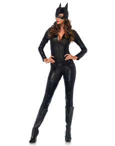 Woman's Captivating Crime Fighter Costume