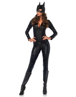 Fascinerende misdaadvechter kostuum voor vrouwen