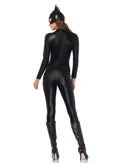 Disfraz de luchadora contra el crimen cautivadora para mujer - mujer