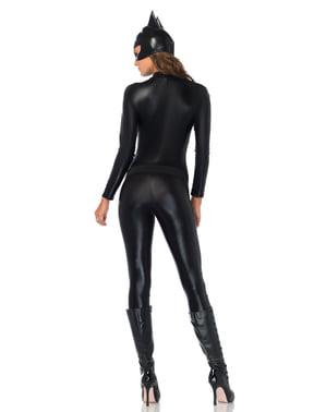 Disfraz de luchadora contra el crimen cautivadora para mujer