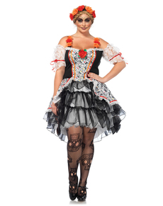 womans plus size catrina costume