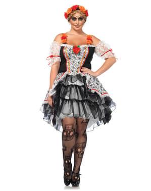 גודל פלוס האישה Catrina תלבושות