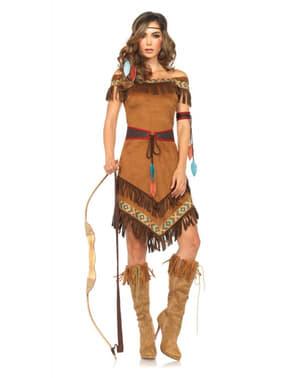 Дамски костюм на индианска принцеса