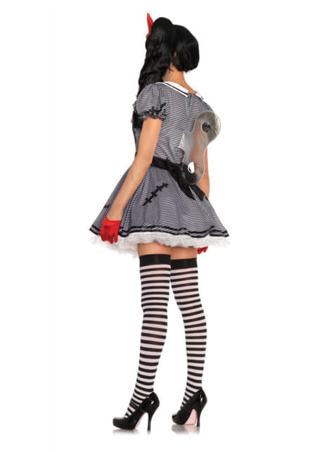 Woman's Charming Wind-up Doll Costume