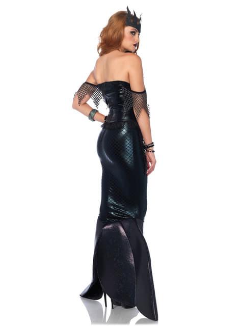 Disfraz de sirena gótica para mujer - mujer
