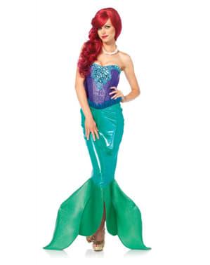 Elegantný kostým pre morskú pannu